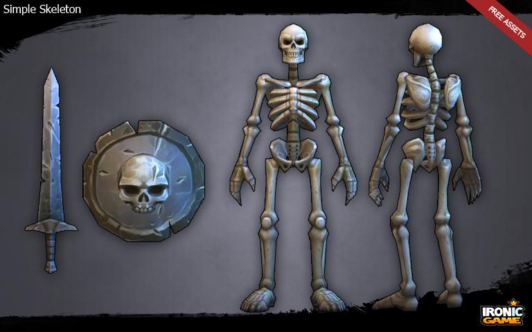 Skeleton Unity Asset Store
